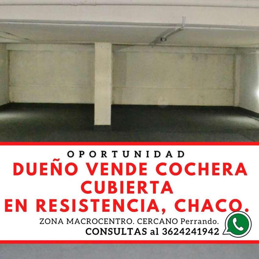 Cochera cubierta en subsuelo en Edificio de Categoria Resistencia Zona Hospital Perrando Macrocentro
