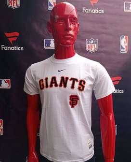 Camisetas NBA- NFL-MLB +Baloncesto, Futbol+Americano, Beisbol FANATICS de Equipos de USA