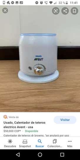 Calentador Avent