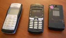 Lote 3 Celulares Retro Vintage (Nokia-Samsung-Sony)
