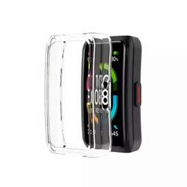 Honor band 6 case transparente cover protector