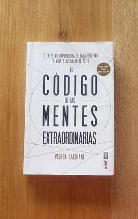 LIBRO: EL CODIGO DE LAS MENTES EXTRAORDINARIAS. vishen L.