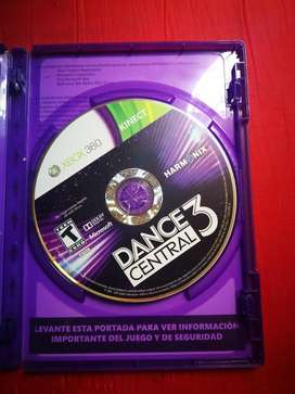 Central Dance 3 para Xbox 360 Original.
