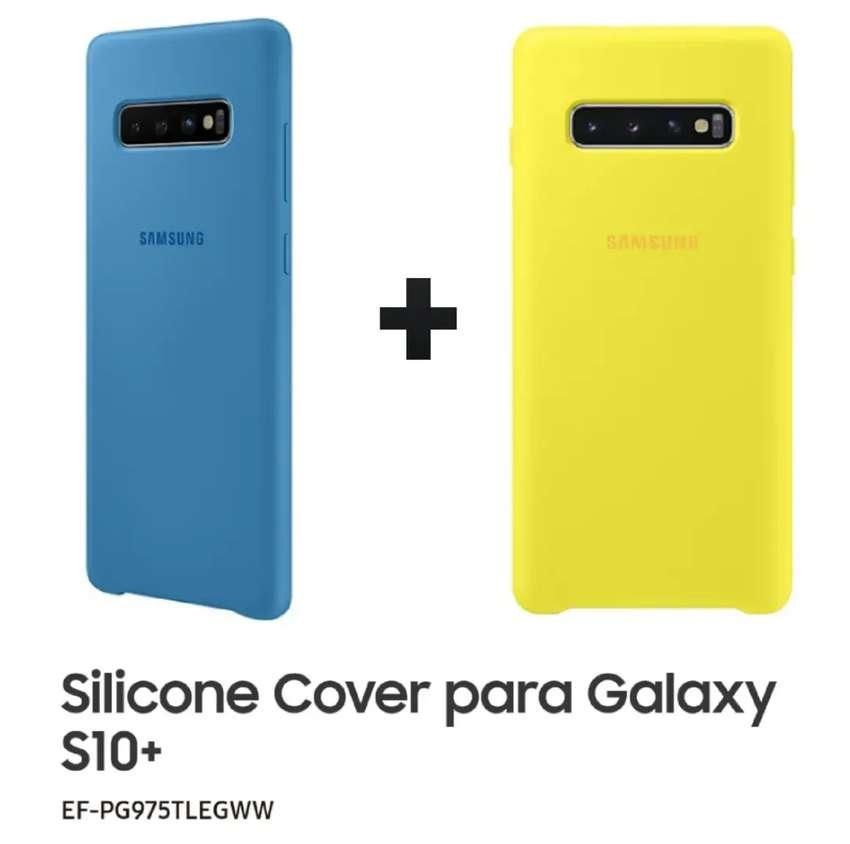 Protector Cover x 3 Original para Samsung S10 + Envío 0