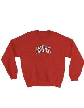"Saco unisex ""Daddy Issues"", 100% nuevo y original Daddy Couture."