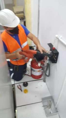 Mantenimiento sistemas contra incendio hidráulica y humo