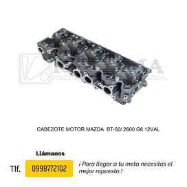 CABEZOTE MOTOR MAZDA BT-50, B1600, B2200, B2600, Allegro, 323