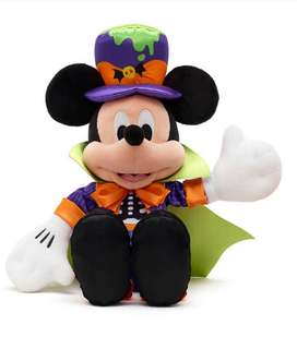Mickey Mouse Halloween Peluche, Muñeco