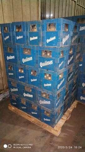 Cajones de cerveza envases viejos de 970cc