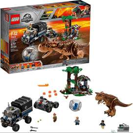 LEGO Jurassic World Carnotaurus Gyrosphere Escape 75929 Building Kit 577 Pieces Discontinued by Manufacturer Ref:VS-US00