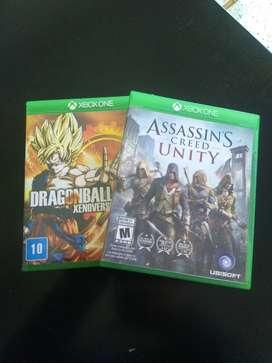 Cambio juegos Xbox one