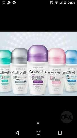 Desodorantes Activelle