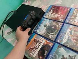 Vendo  ps4  de 500gb cn 6 juegos