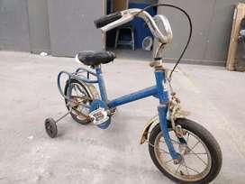 Bicicleta antigua para niño r10