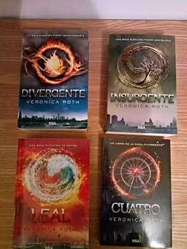 """Saga """"Divergente"""" (Incluye """"Cuatro"""")"""