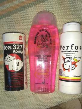 Shampoo Gato Y Talco Mascotas