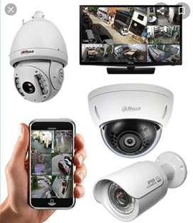 instalación de Cámaras de Vigilancia y Gps