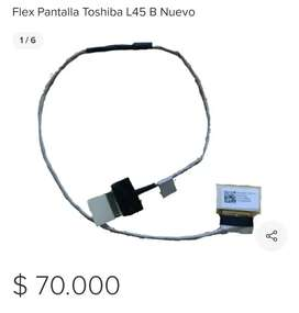 Flex Pantalla Toshiba L45B Nuevo