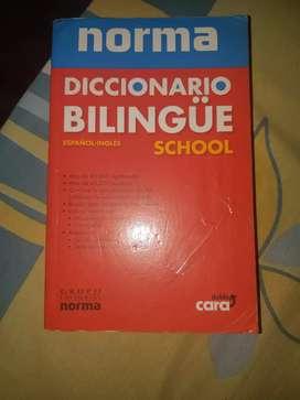 Diccionario Bilingüe Norma Doble cara