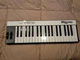 Controlador teclado midi iRig Keys Pro