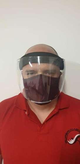 Protector Facial de Policarbonato 18 cm | Máscara o visor con protección UV