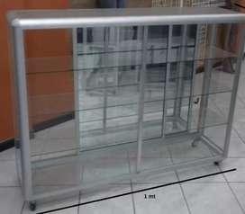 Vitrina en aluminio