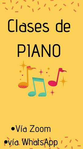 Clases online de Piano y teclado