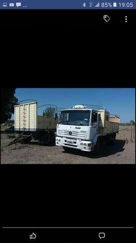 Venta o permuta del camion con acoplado
