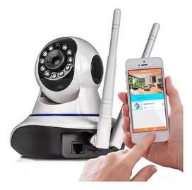 Camara IP WiFi HD Seguridad P2p Robotica Celular Nocturna