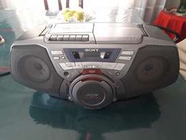 Radio, grabadora, cd Sony