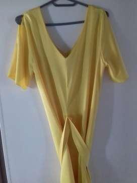 Vestido Amarillo corto