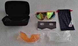 100% gafas, nuevas, lentes diversos colores, con empaques. Incluye neumático Continental rin 29 MTB nuevo