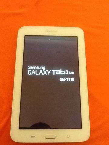 """Tablet Samsung Galaxy Tab 3 Lite 7"""" (SM-T110) White 0"""