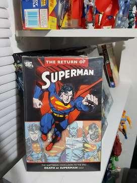 Superman, regreso de superman  inglés tomo recopilatorio