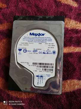 Disco duro 40 Gb y lector y quemador de dvd lg
