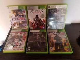 Control Xbox 360 mas 8 juegos
