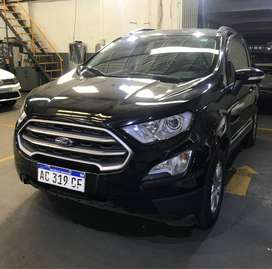 FORD ECOSPORT SE MT 2018!! IMPECABLE!! SOLO 47.000KMS!!