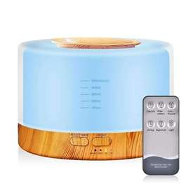Humidificador Difusor Ambientador Con Luces Led (7 Colores) 500ML + Control Remoto.