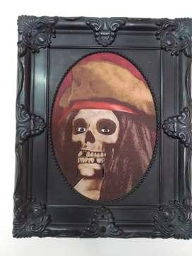 Cuadro de pirata que asusta