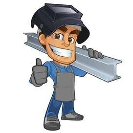 Busco trabajo como auxiliar metalmecanico