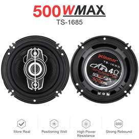 Parlante 6 pulgadas PCINENER TS-1685 Max potencia Watts 500W / 40RMS
