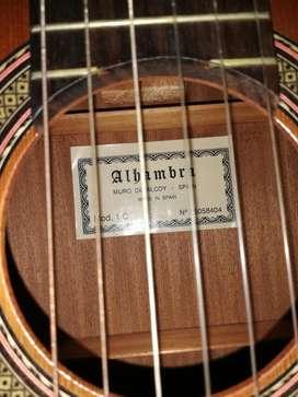 Guitarra clásica Alhambra acústica 1C