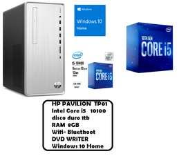 HP  PAVILION  TP01  CORE I5  DECIMA GENERACION   N  U  E  V  O