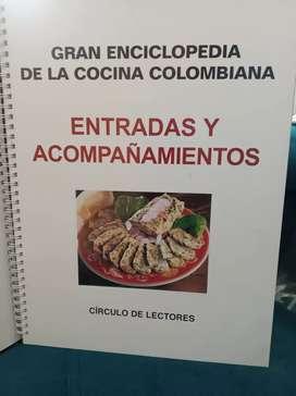 GRAN ENCICLOPEDIA DE LA COCINA COLOMBIANA ( ENTRADAS Y ACOMPAÑAMIENTOS)