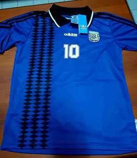 Camiseta AFA Maradona y Riquelme