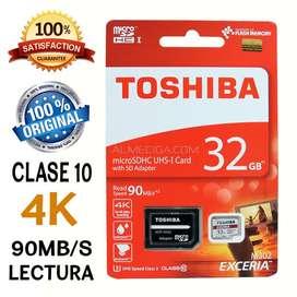 Memoria Toshiba 32gb clase 10 original