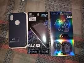 Vendo accesorios sin usar para iPhone x