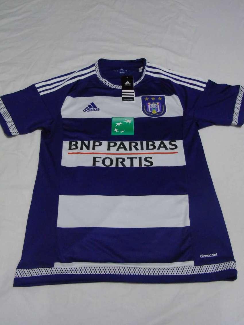 Camiseta Oficial del Anderlecht de Bélgica - Marca Adidas (Nueva, original) 0