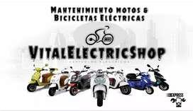 Reparamos Motos Y Bicicletas Eléctricas