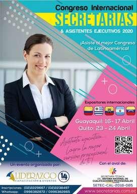 Congreso Internacional de Secretarias & Asistentes Ejecutivos 2020